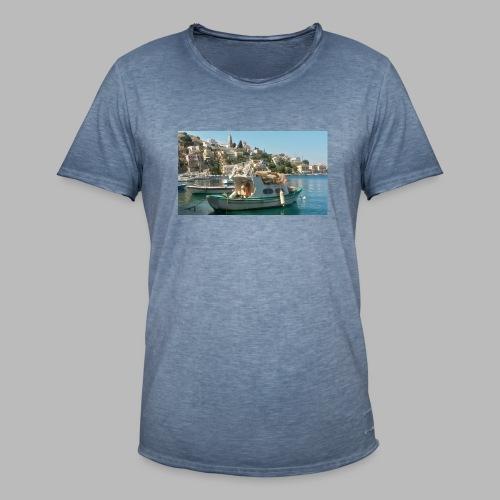 fischer griechenland - Männer Vintage T-Shirt
