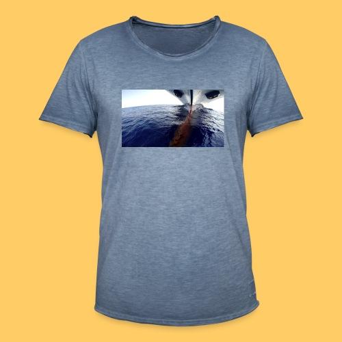 Frachtschiff Containerschiff - Männer Vintage T-Shirt