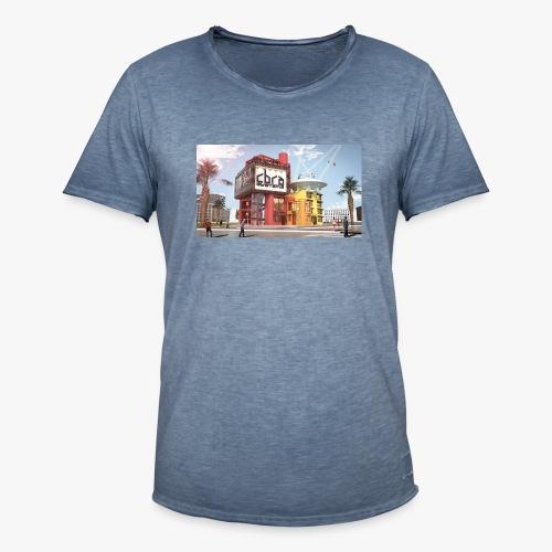 Cbra Systems Building - Men's Vintage T-Shirt