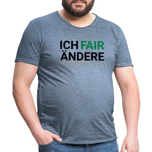 Ich FairÄndere - Männer Vintage T-Shirt
