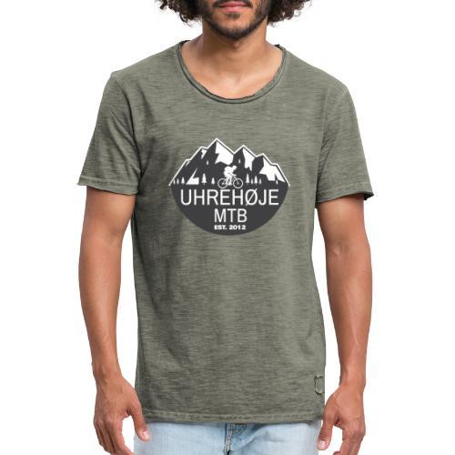 UhreHøje MTB - Herre vintage T-shirt