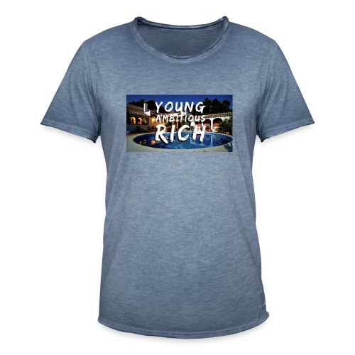 YOUNG, AMBITIOUS, YOUNG - Men's Vintage T-Shirt