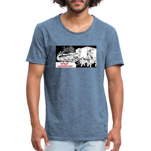 vinyl solutionz - Men's Vintage T-Shirt