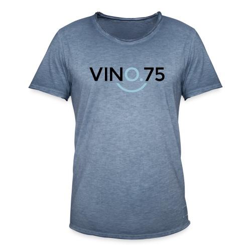 VINO75 - Maglietta vintage da uomo