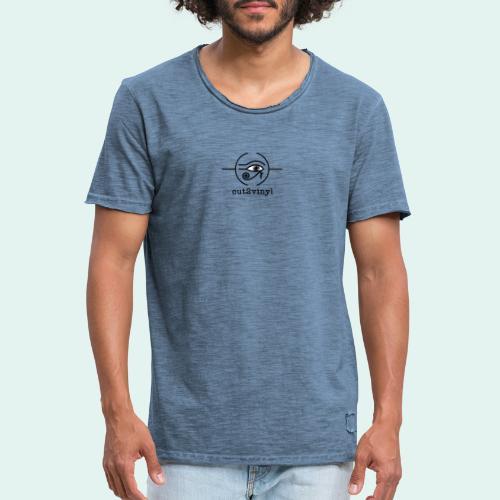 Cut2Vinyl - Men's Vintage T-Shirt