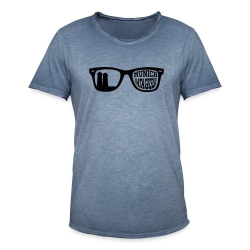 Munich Datageeks - Männer Vintage T-Shirt