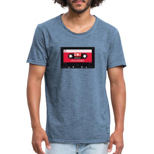 CMF RADIO CASSETTE - Men's Vintage T-Shirt