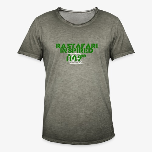 Inspired Rastafari - Men's Vintage T-Shirt