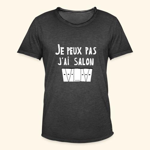Je Peux pas j ai salon - T-shirt vintage Homme