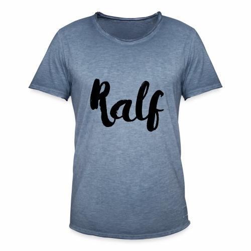 Ralf - Mannen Vintage T-shirt