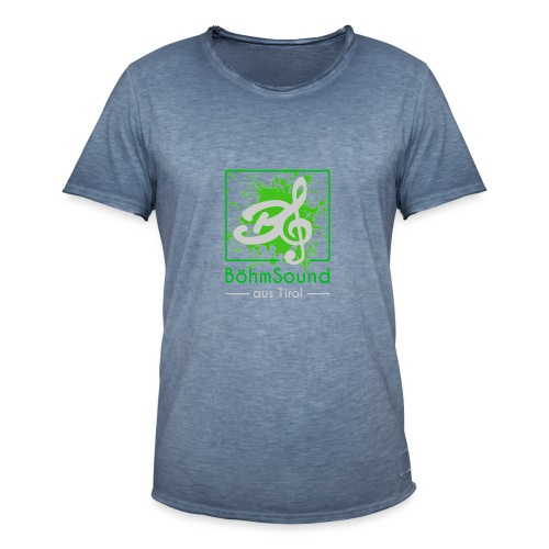 BöhmSound Farbe - Männer Vintage T-Shirt