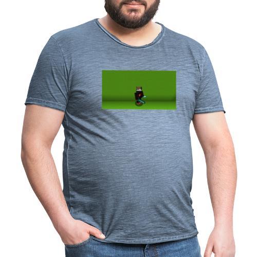 Greenscreen Skin - Männer Vintage T-Shirt