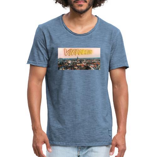 Viernheim Innenstadt - Männer Vintage T-Shirt