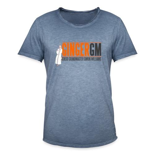 Ginger GM Logo - Men's Vintage T-Shirt
