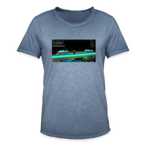 RobloxScreenShot20180804 124355106 - Men's Vintage T-Shirt