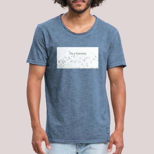 Fly a Fantasy - Männer Vintage T-Shirt