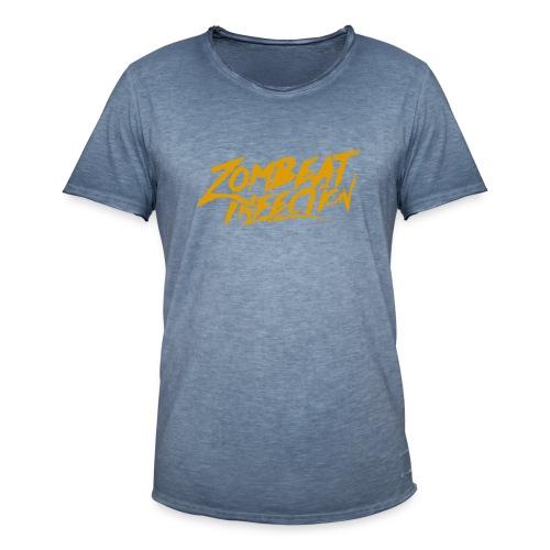 String LogoOrange - T-shirt vintage Homme