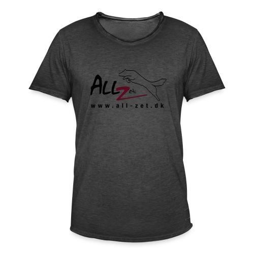 All Zet Logo - Herre vintage T-shirt