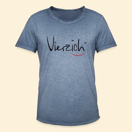 Vierzich - Männer Vintage T-Shirt