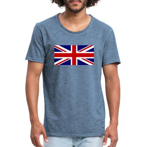 drapeau anglais - T-shirt vintage Homme