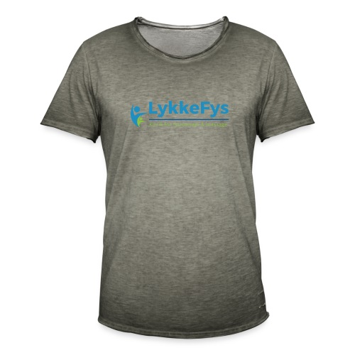 Lykkefys Esbjerg - Herre vintage T-shirt