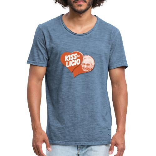Kiss Me Licio - Maglietta vintage da uomo