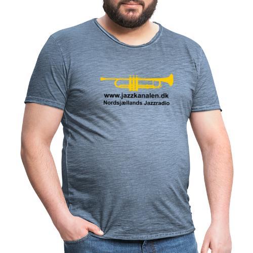 Den gyldne Jazztrompet - Herre vintage T-shirt