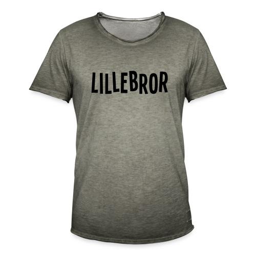 Lillebror - Vintage-T-skjorte for menn
