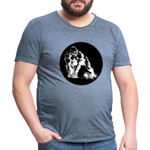 EPIC-Gorilla-Design - Männer Vintage T-Shirt