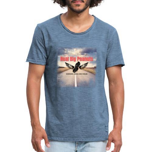 Sommer, Gras und Staub - Männer Vintage T-Shirt