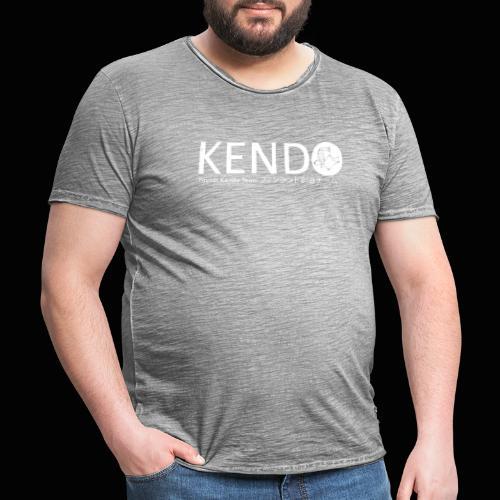 Finnish Kendo Team Text - Miesten vintage t-paita
