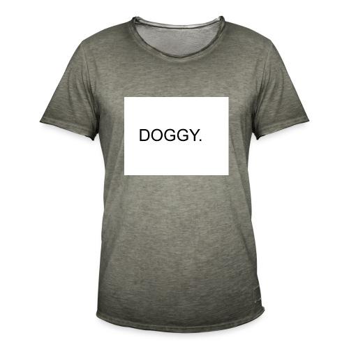 doggy - Männer Vintage T-Shirt