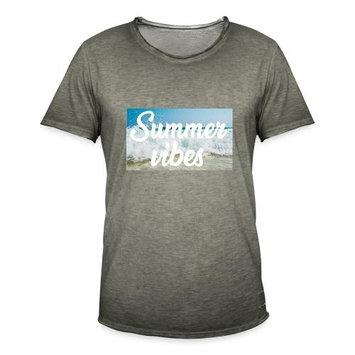 Summervibes - Männer Vintage T-Shirt