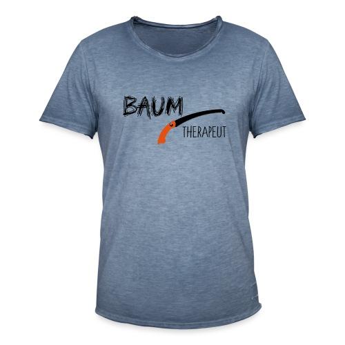 Baumtherapeut - Männer Vintage T-Shirt