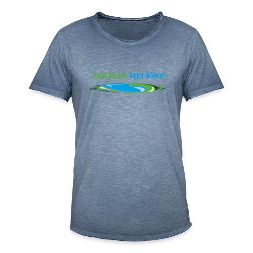 Böhlener - Männer Vintage T-Shirt