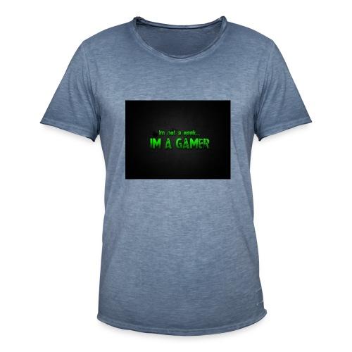i'm a gamer - Men's Vintage T-Shirt