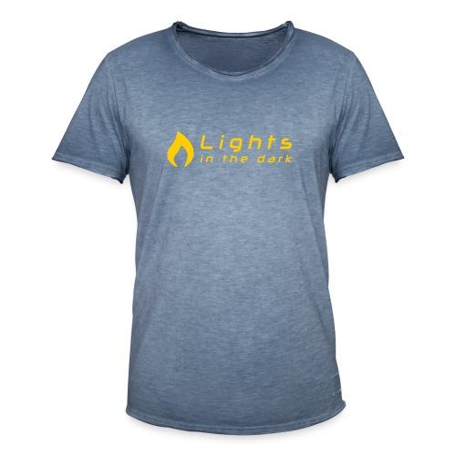 Lights in the Dark - officiel (simple) - T-shirt vintage Homme