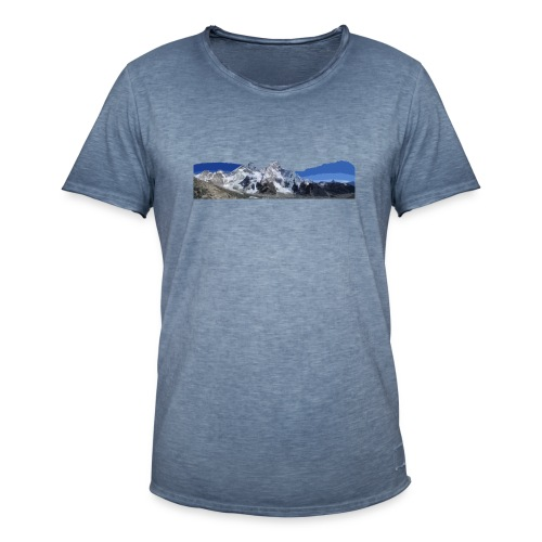 MOUNTAINS - Maglietta vintage da uomo