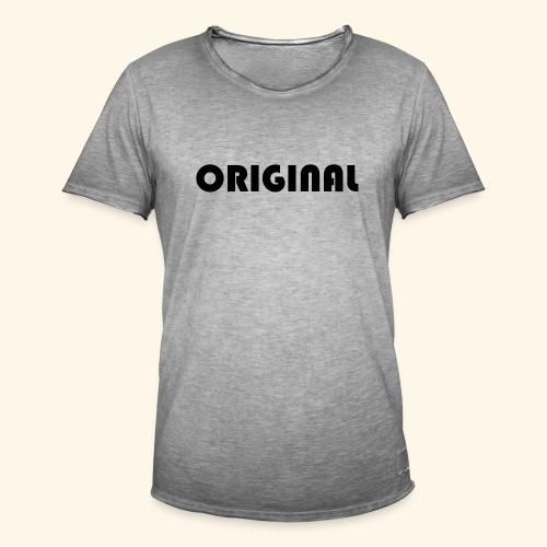 Original - Camiseta vintage hombre