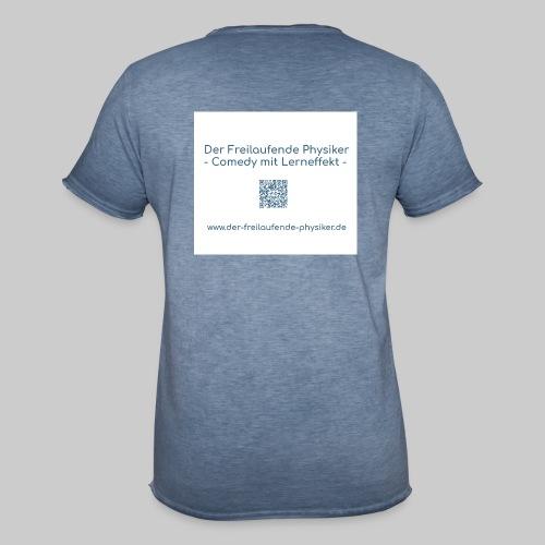 Der Freilaufende Physiker Merchendise - Männer Vintage T-Shirt