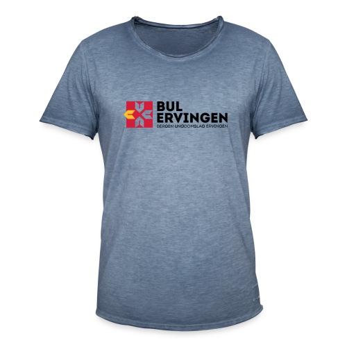 bule-kopp - Vintage-T-skjorte for menn