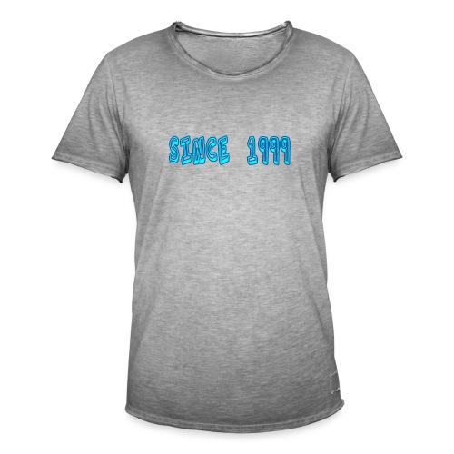 Since 1999 - Miesten vintage t-paita