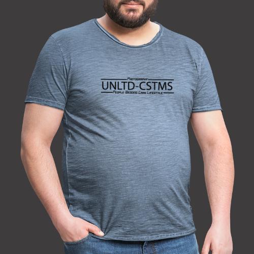 unlimited 02042020 schwarz - Männer Vintage T-Shirt