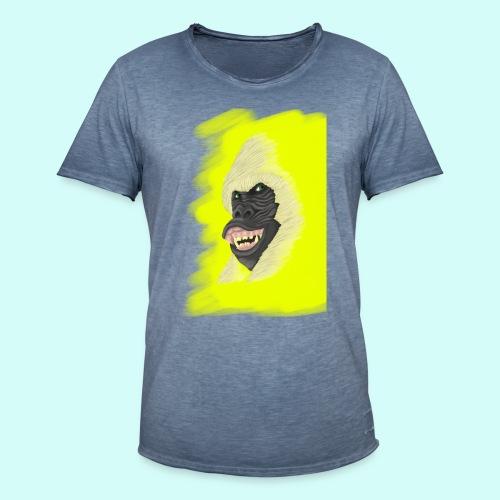 Gorille heureux - T-shirt vintage Homme