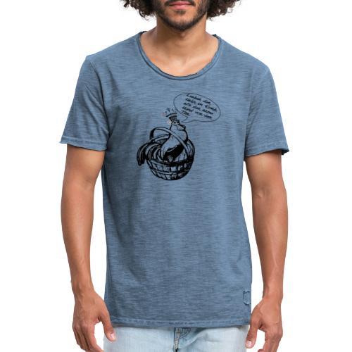 Digga Hahn im Korb, Aller. - Männer Vintage T-Shirt