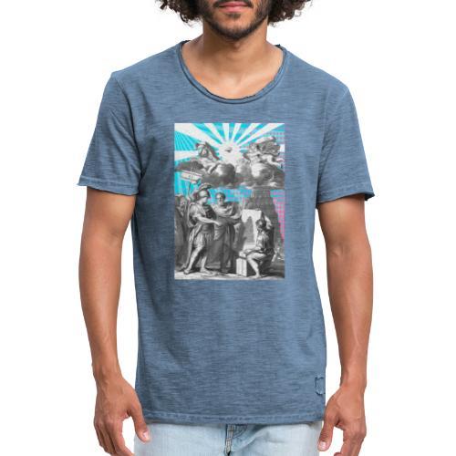 C12 - Camiseta vintage hombre