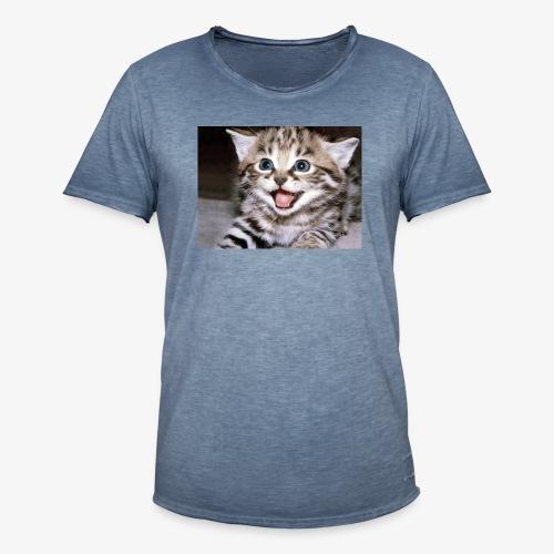 Cute Cat - Men's Vintage T-Shirt