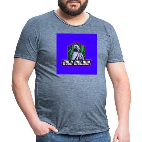 Guld Melwin - Vintage-T-shirt herr