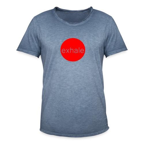 exhale - Men's Vintage T-Shirt