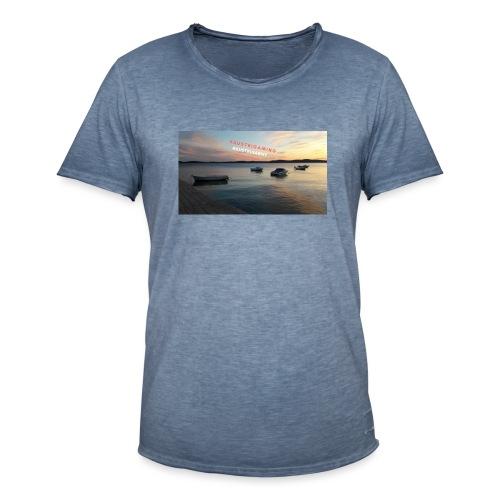 Merch - Männer Vintage T-Shirt